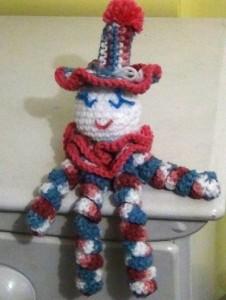 Clown Doll Pinky Blue 3