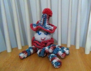 Clown Doll Pinky Blue