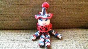 Clown Doll Pinky Blue 5