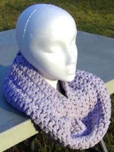 Cowl - Lavender Snood 2