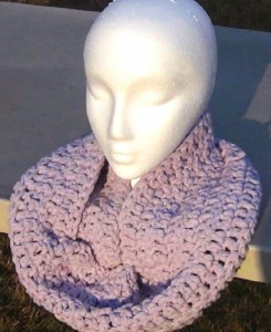 Cowl - Lavender Snood 4
