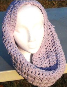 Cowl - Lavender Snood 5