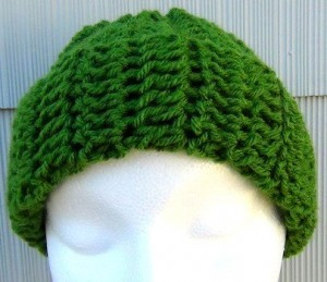 Green Slouchy Hat 2