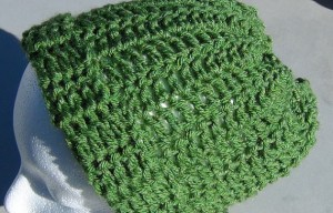 Green Slouchy Hat 4