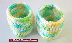 Cup Cozy - Bottle Cozy - Easter = Spring Color - Set of 2 3