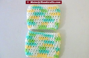 Cup Cozy - Bottle Cozy - Easter = Spring Color - Set of 2 4
