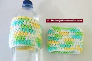 Cup Cozy - Bottle Cozy - Easter = Spring Color - Set of 2 5