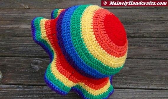 cfb2d103ba Rainbow Sun Hat