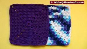 Crochet Dish Cloth - Crochet Wash Cloth - Cotton Face Cloth - Set of 2 3
