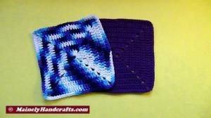 Crochet Dish Cloth - Crochet Wash Cloth - Cotton Face Cloth - Set of 2 4