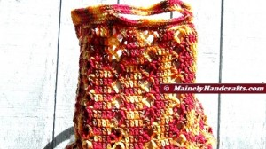 Market Bag - Beach Bag - Tote Bag - Crochet Tote Bag - Reuseable Shopping Bag - Marrakesh 2