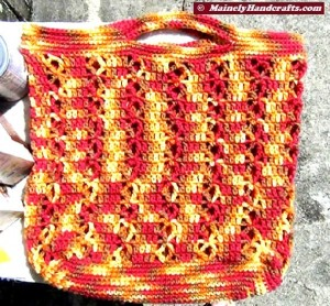 Market Bag - Beach Bag - Tote Bag - Crochet Tote Bag - Reuseable Shopping Bag - Marrakesh 3