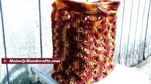 Market Bag - Beach Bag - Tote Bag - Crochet Tote Bag - Reuseable Shopping Bag - Marrakesh