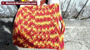 Market Bag - Beach Bag - Tote Bag - Crochet Tote Bag - Reuseable Shopping Bag - Marrakesh 4