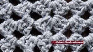 Womens Shawl, Granny Shawl, Fashion Shawl, Triangle Shawl, Crocheted Gray Wrap 4