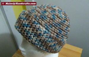 Hat - Slouchy Hat - Camo Slouch Cap 3