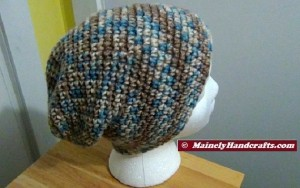 Hat - Slouchy Hat - Camo Slouch Cap