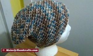 Hat - Slouchy Hat - Camo Slouch Cap 4