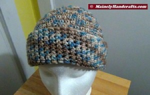 Hat - Slouchy Hat - Camo Slouch Cap 5